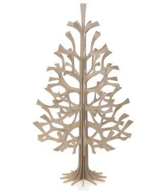 LOVI Lovi Spar boom 50cm naturel - Berkenhout 3D-boom DIY pakketje