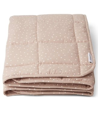 Liewood Liewood Ebbe Quilted blanket 100x100cm Confetti Rose