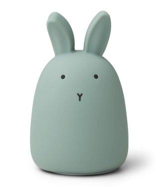 Liewood Liewood Night Light Rabbit Peppermint Rechargeable