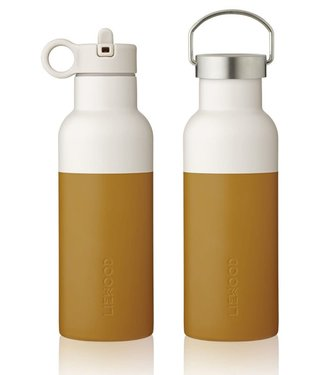 Liewood Liewood NEO Waterfles Drinkfles 500ml mosterd zand