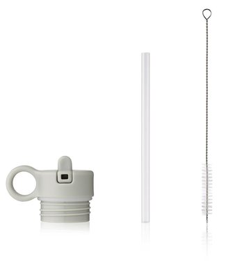 Liewood Liewood set with light grey sport cap / tube / brush for 350ml Anker water bottle