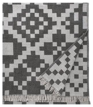 Lapuan Kankurit Lapuan Kankurit Huvila Wool plaid 150x170 Beige grey black