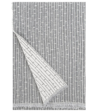 Lapuan Kankurit Lapuan Kankurit Metsä Wool plaid 140x180  Lightgrey - cream