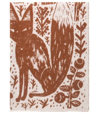 Lapuan Kankurit Lapuan Kankurit Metsikkö Wool plaid 130x180  Cinnamon