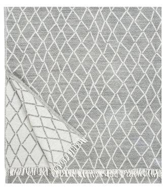 Lapuan Kankurit Lapuan Kankurit Puikko wool plaid 140x180 grey