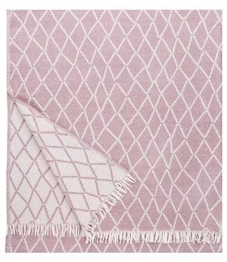 Lapuan Kankurit Lapuan Kankurit Puikko wool plaid 140x180 rose