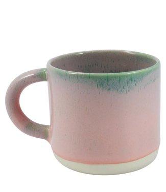 Studio Arhoj Studio Arhoj Chug Mug Pink Pistachio Green