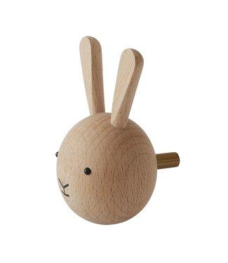 OYOY OYOY Mini Wall Hook Rabbit