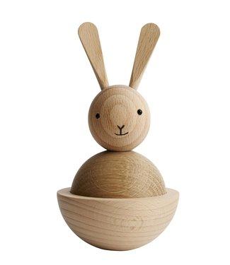 OYOY OYOY Wooden Rabbit Object