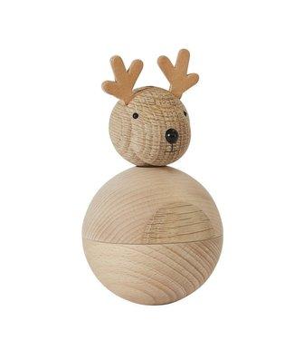 OYOY OYOY Wooden Reindeer Rudolph Object