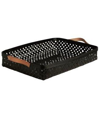 OYOY OYOY Sporta Basket Black Bamboo - 2 sizes