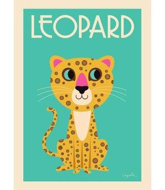 OMM Design OMM Design Poster Luipaard 50x70cm
