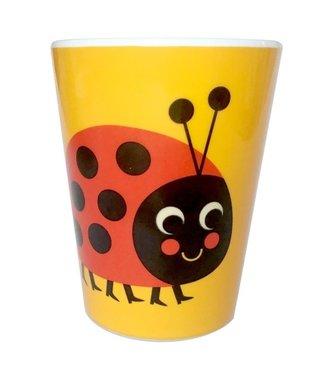 OMM Design OMM design Lieveheersbeestje Melamine Beker