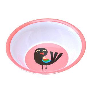 OMM Design OMM design Vogel Roze Melamine Kom