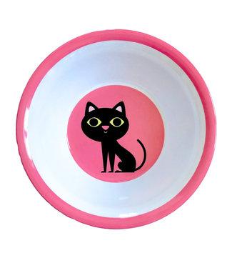 OMM Design OMM design Cat Pink Melamine Bowl