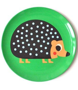 OMM Design OMM design Hedgehog Melamine Plate