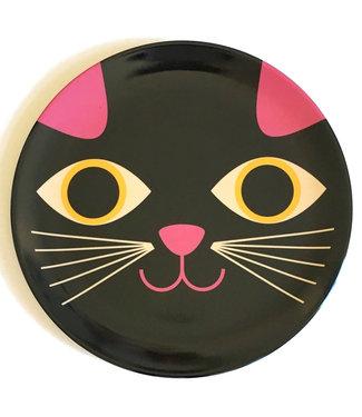 OMM Design OMM design Black Cat Melamine Plate