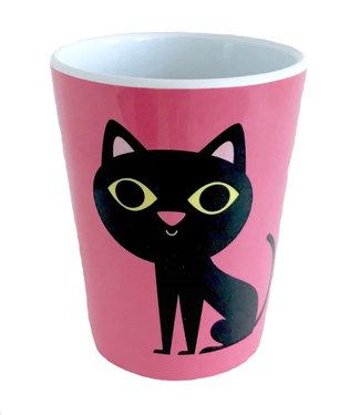 OMM Design OMM design Cat Pink Melamine Cup