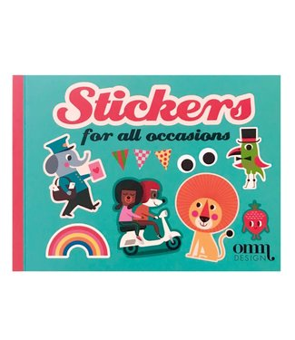 "OMM Design OMM design Stickerboek ""for all occasions"""