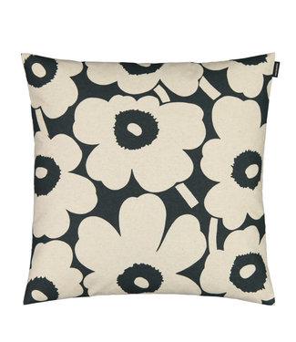 Marimekko Marimekko Unikko cushion cover dark green 50x50cm