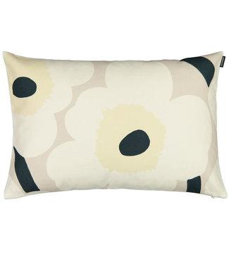 Marimekko Marimekko Unikko cushion cover beige offwhite dark green 40x60cm