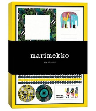 Marimekko Marimekko Doos met 30 vellen stickers - stickerlabels