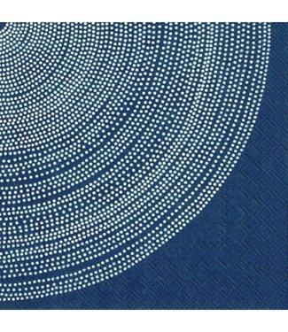 Marimekko Marimekko Fokus Blauw Papieren Servetten 33x33cm