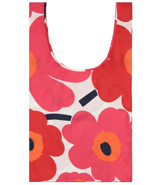 Marimekko Marimekko Smartbag Folding Bag  Unikko Pink Red