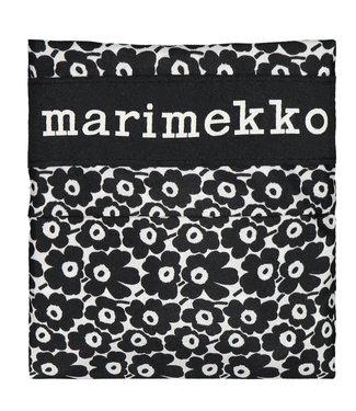 Marimekko Marimekko Smartbag Folding Bag  Unikko Black Little flower