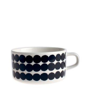 Marimekko Marimekko Räsymatto Black Teacup 2,5dl