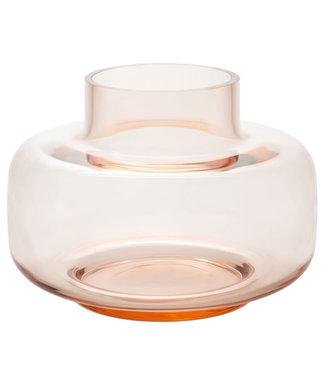 Marimekko Marimekko Urna Vase Glass 30cm Coral