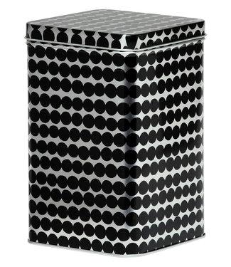Marimekko Marimekko Oiva Räsymatto tin box 10,2 x 10,2 x 17,5 cm