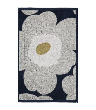 Marimekko Marimekko Unikko Handdoek 30x50cm donkerblauw