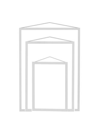 Moebe Moebe Lijst Lightgrey (different sizes)