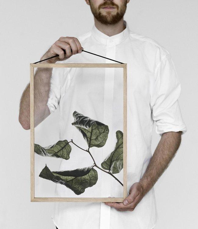 Moebe Moebe Floating Leaves Transparant print 03