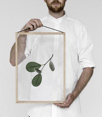 Moebe Moebe Floating Leaves Transparant print 05