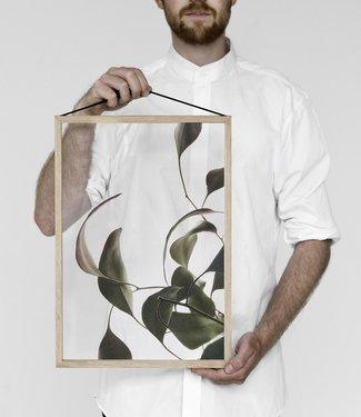 Moebe Moebe Floating Leaves Transparant print 08