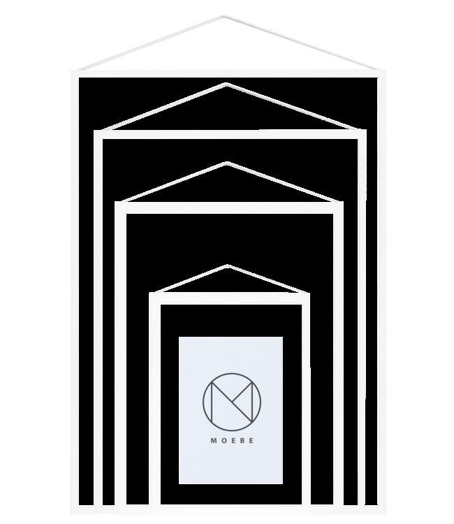 Moebe Moebe Frame White (different sizes)