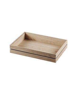Moebe Moebe Organise solid oak organiser 17 x 25 x 4.5cm Small