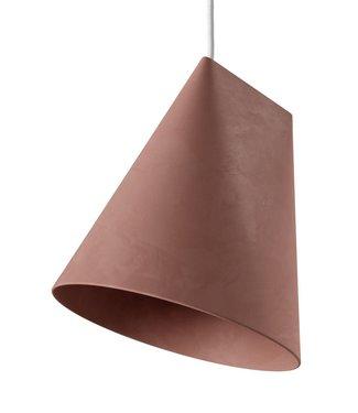 Moebe Moebe Keramieken Lamp Wijd H235 x D230mm Terracotta