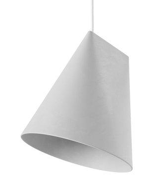 Moebe Moebe Ceramic Pendant Wide H235 x D230mm Lightgrey