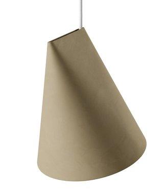 Moebe Moebe Keramieken Lamp Wijd H235 x D230mm Olijf