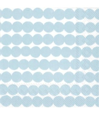 Marimekko Marimekko Räsymatto Papieren Servetten 33x33cm Lichtblauw
