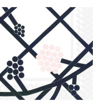 Marimekko Marimekko Hortensie Paper Napkin 33x33cm