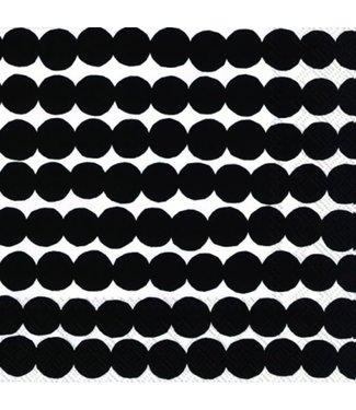 Marimekko Marimekko Räsymatto zwart Papieren Servetten 33x33cm