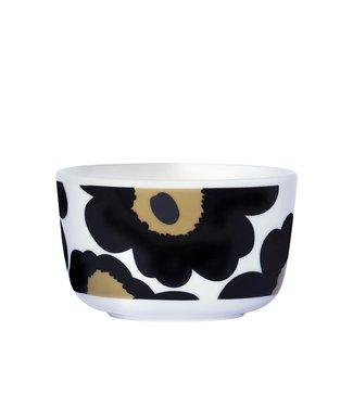 Marimekko Marimekko Unikko Schaaltje 2,5dl zwart - beige
