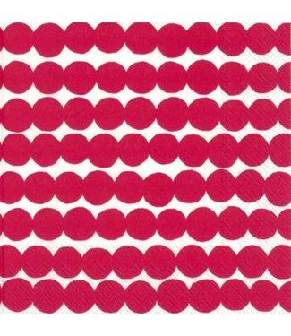 Marimekko Marimekko Räsymatto Red Paper Napkin 33x33cm