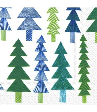 Marimekko Marimekko Kuusikossa Papieren Servetten 33x33cm groen