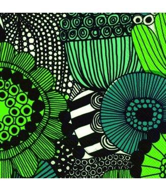 Marimekko Marimekko Siirtolapuutarha Green Paper Napkin 33x33cm