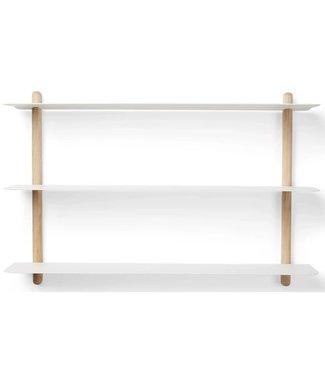 Gejst Gejst NIVO A wall shelf Light oak white